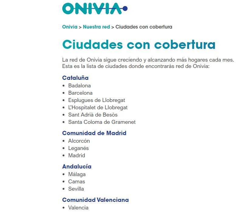 Aqua ya está disponible en Madrid, Barcelona, Sevilla, Málaga y Valencia a través de Onivia. 2